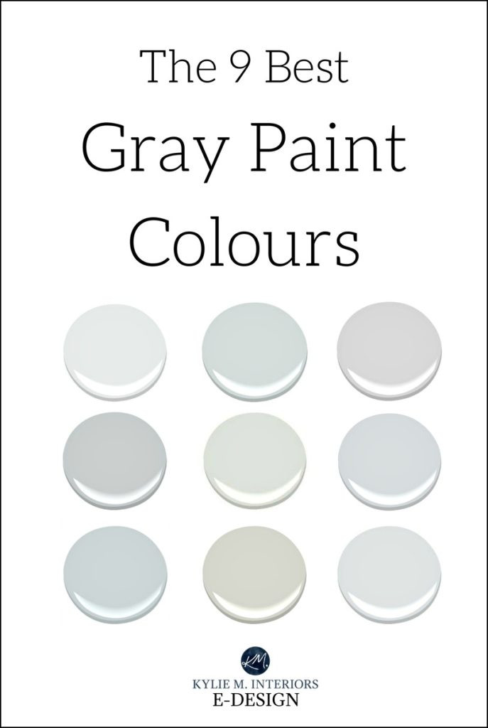 Best ideas about Best Grey Paint Colors . Save or Pin The 9 Best Benjamin Moore Paint Colors – Grays Including Now.