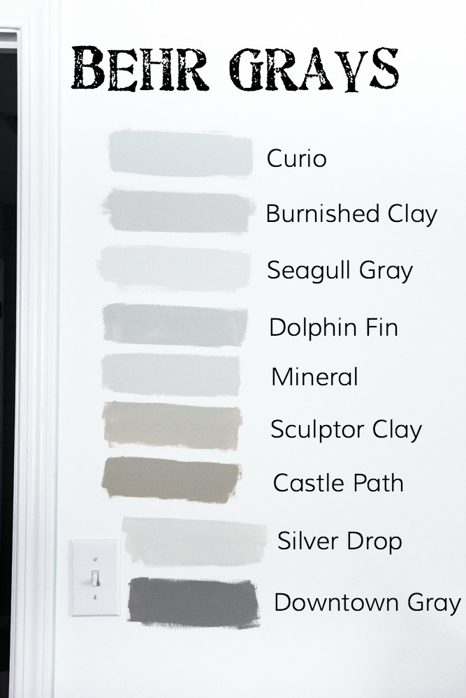 Best ideas about Best Grey Paint Colors . Save or Pin How to Choose the Perfect Gray Paint Bless er House Now.