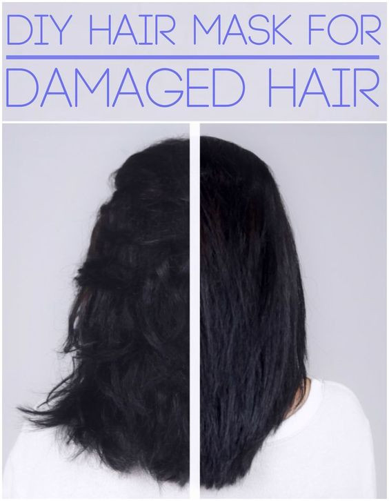 Best Hair Mask For Damaged Hair DIY  Dry damaged hair Diy hair and Coconut on Pinterest