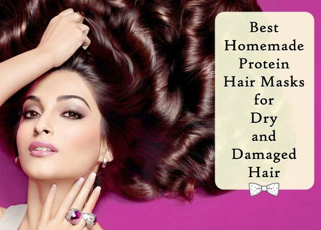 Best Hair Mask For Damaged Hair DIY  Best Homemade Protein Hair Mask for Dry and Damaged Hair