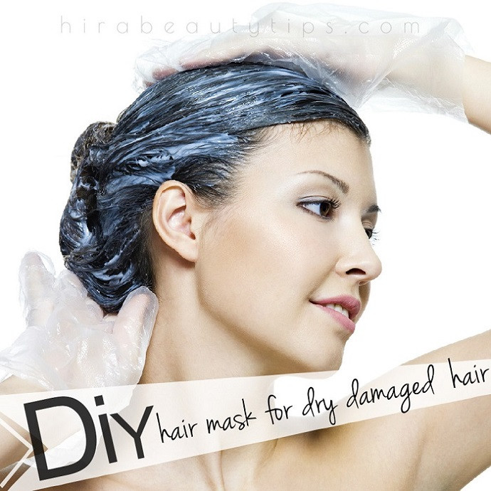 Best Hair Mask For Damaged Hair DIY  DIY Hair Mask for Dry Damaged Hair