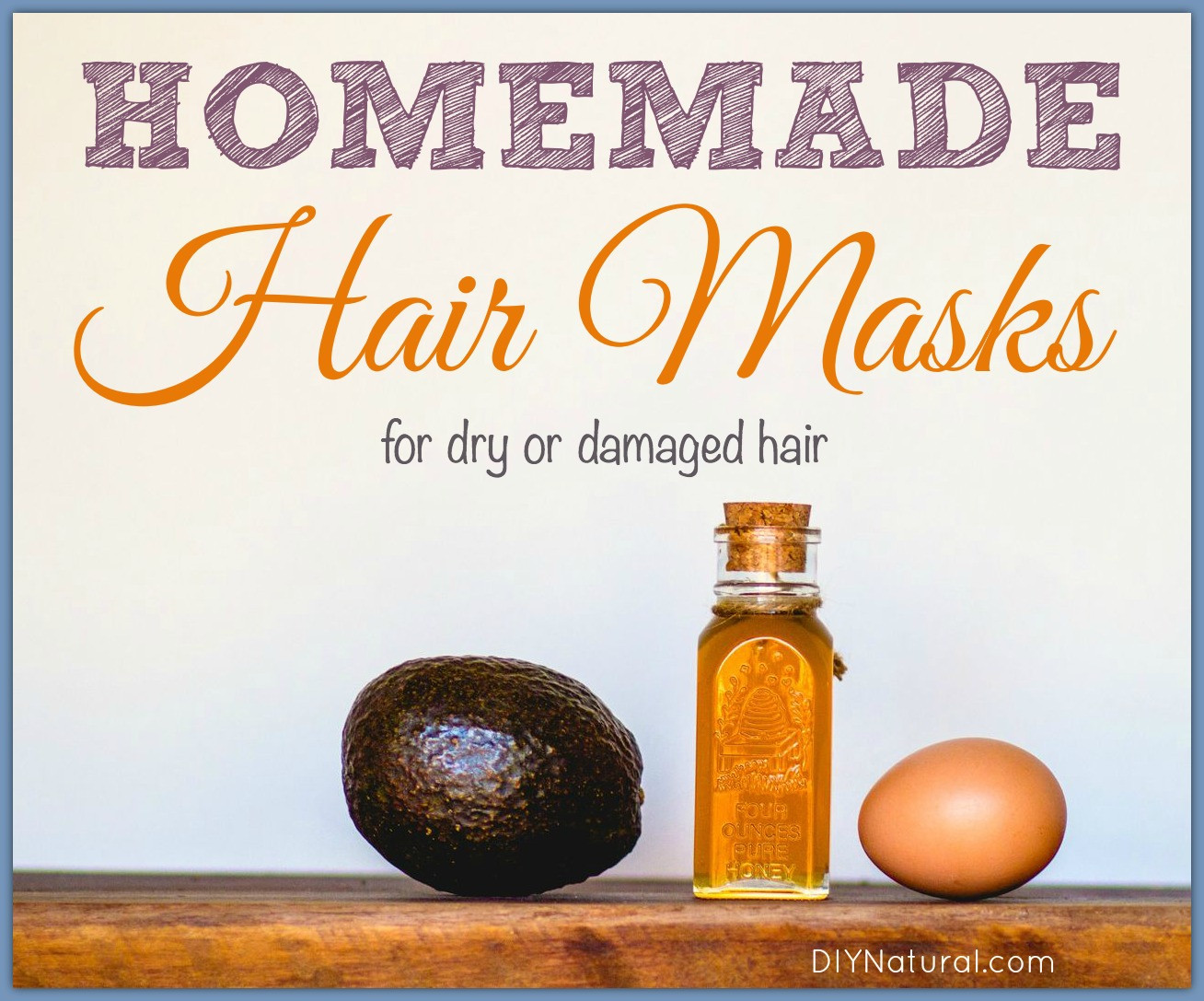 Best Hair Mask For Damaged Hair DIY  Homemade Hair Masks for Dry or Damaged Hair