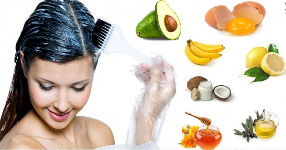 Best Hair Mask For Damaged Hair DIY  Homemade Hair Mask for the Treatment of Damage Hair