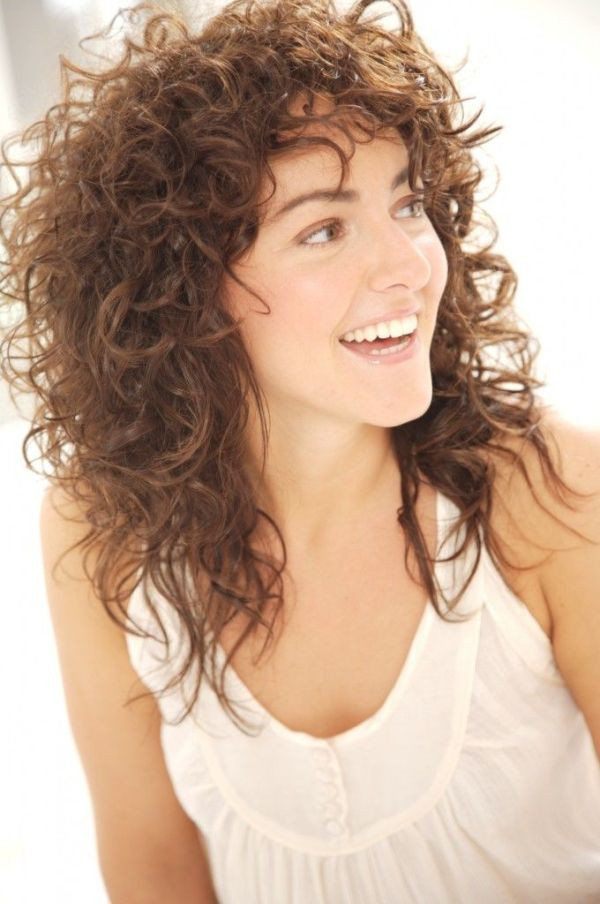 Best Haircuts For Naturally Curly Hair  Long Party Hairstyles For Naturally Curly Hair for Women