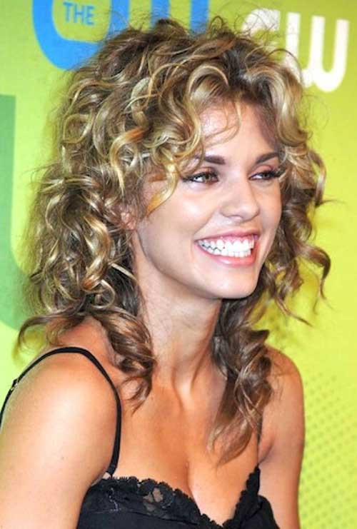 Best Haircuts For Naturally Curly Hair  35 Long Layered Curly Hair