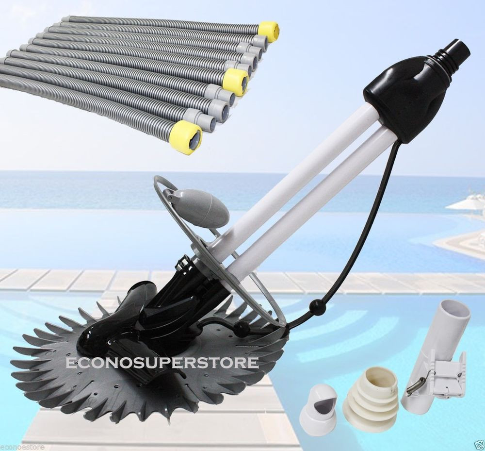 Best ideas about Best Inground Pool Vacuum . Save or Pin INGROUND AUTOMATIC SWIMMING POOL VACUUM CLEANER HOVER WALL Now.