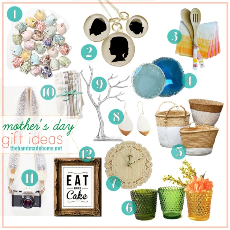 Best Mothers Day Gift Ideas  Top 10 Handmade Mother's Day Gift Ideas
