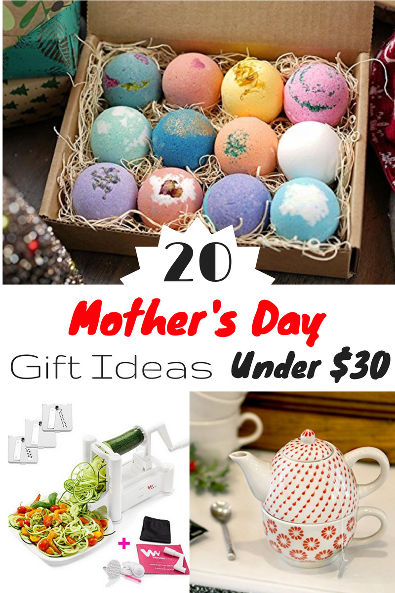 Best Mothers Day Gift Ideas  Top 20 Mother's Day Gift Ideas Under $30 Slick Housewives