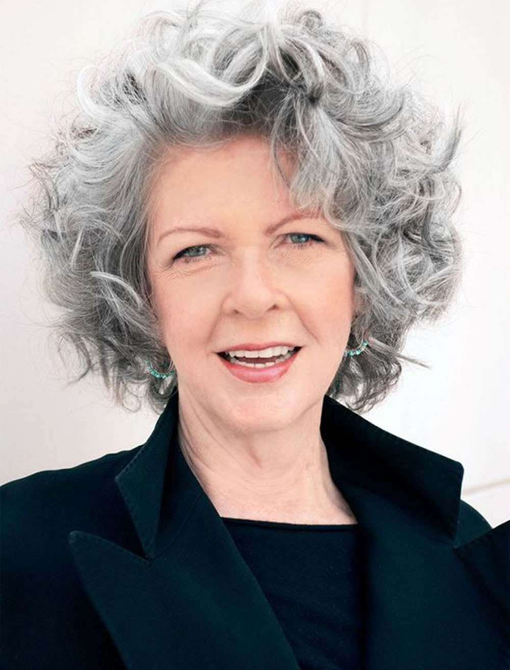 Best Short Haircuts For Older Women  Curly Short Hairstyles for Older Women Over 50 – Best