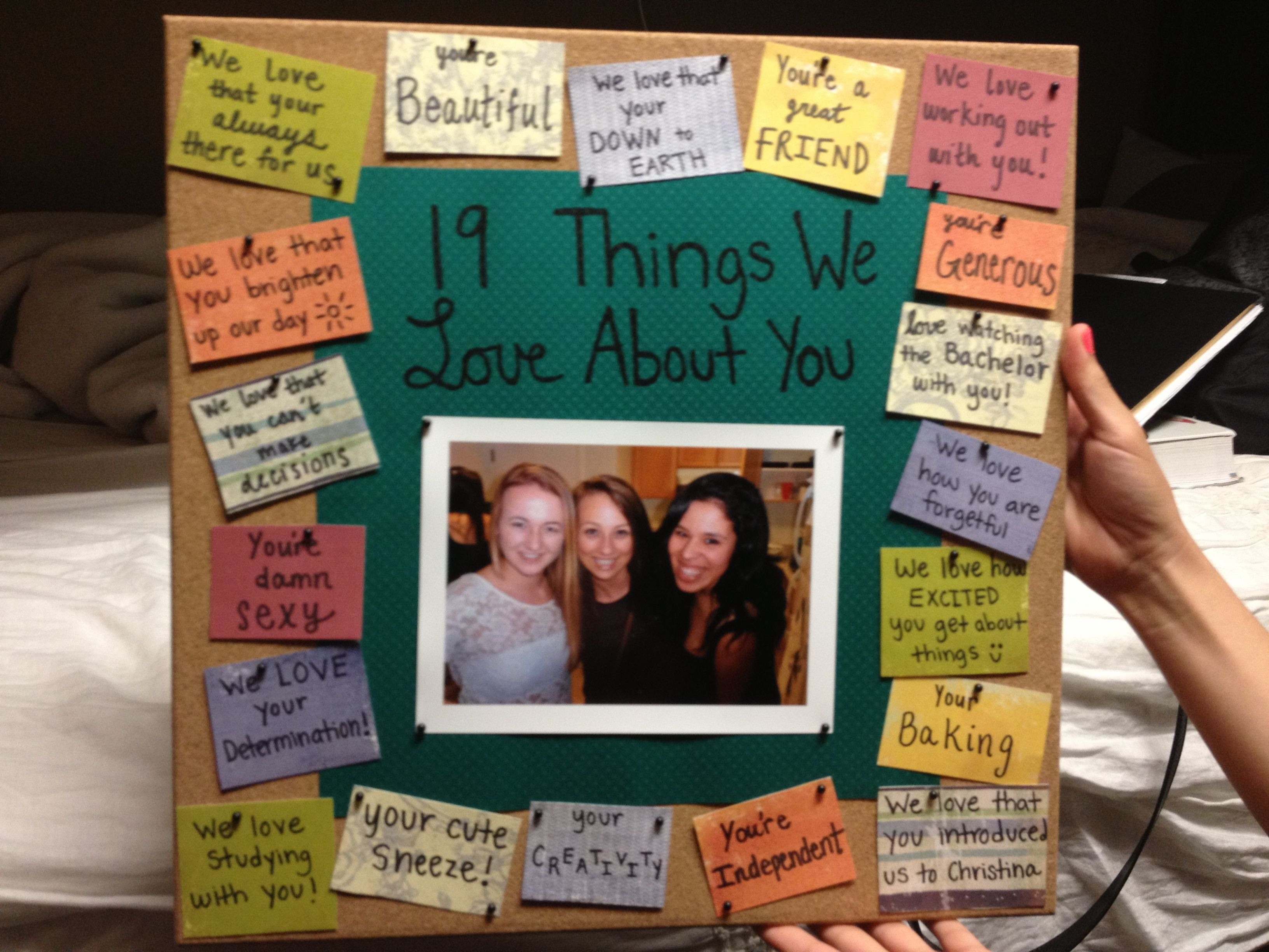 Bff Birthday Gift Ideas  Birthday t for best friend bulletinboard t best