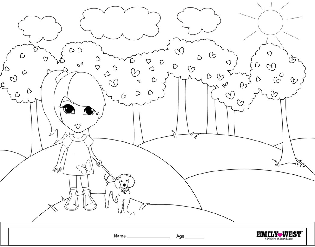 Bff Coloring Sheets For Girls  boy and girl bff coloring pages pics Coloring