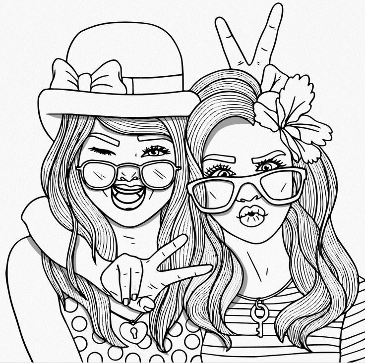 Bff Coloring Sheets For Girls  Bff Coloring Pages bff coloring pages bff coloring pages