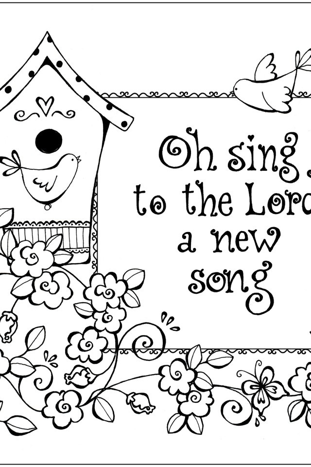 Bible Verse Coloring Sheets For Kids  Bible Verse Coloring Page AZ Coloring Pages