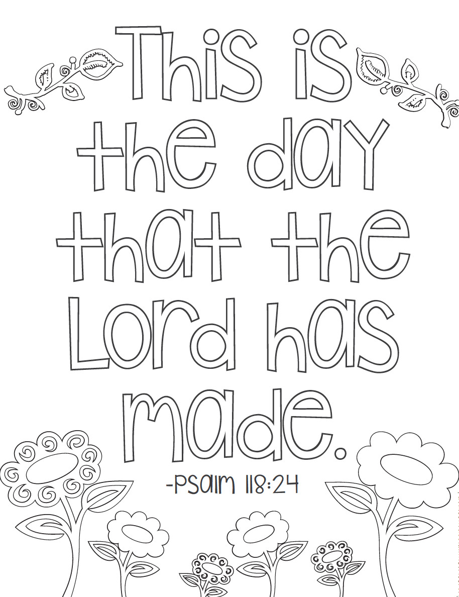 Bible Verse Coloring Sheets For Kids  FREE 20 Bible Verse Coloring Pages — Kathleen Fucci
