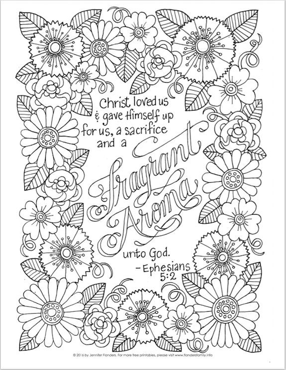 Bible Verses Coloring Pages For Adults  117 best images about Bible coloring pages on Pinterest