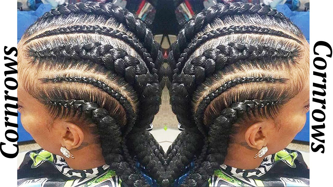 Best ideas about Big Braid Little Braid Hairstyles . Save or Pin 2016 Cornrow Trend Now.