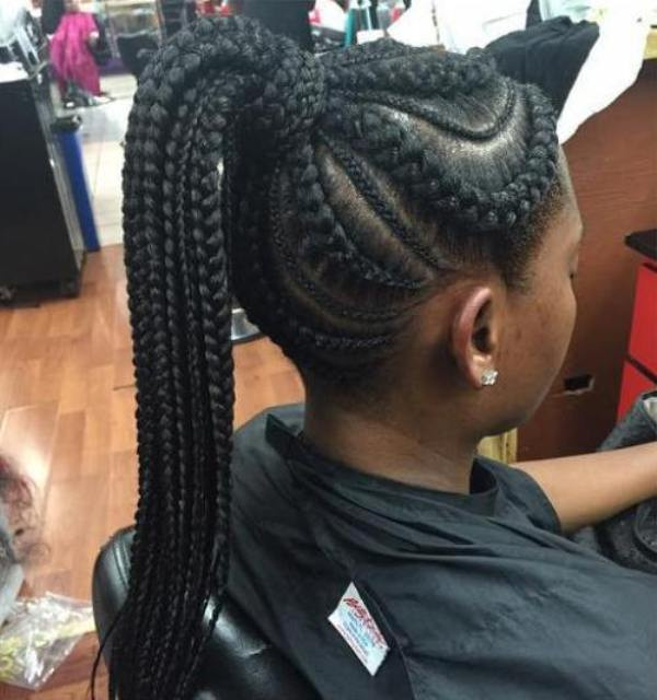Best ideas about Big Braid Little Braid Hairstyles . Save or Pin 50 Best Black Braided Hairstyles for Black Women 2018 Now.