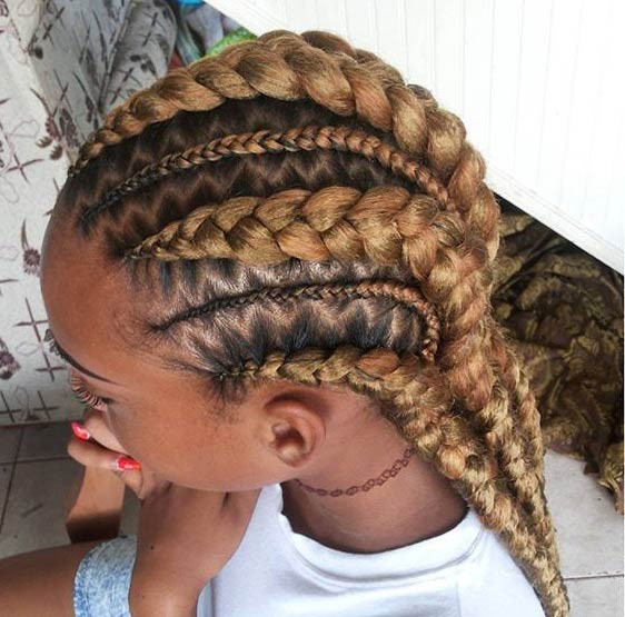 Best ideas about Big Braid Little Braid Hairstyles . Save or Pin 31 Stylish Ways to Rock Cornrows – StayGlam Page 3 Now.