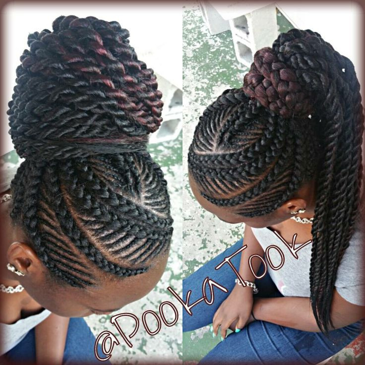 Best ideas about Big Braid Little Braid Hairstyles . Save or Pin Big and small braid mix I just love this style Now.
