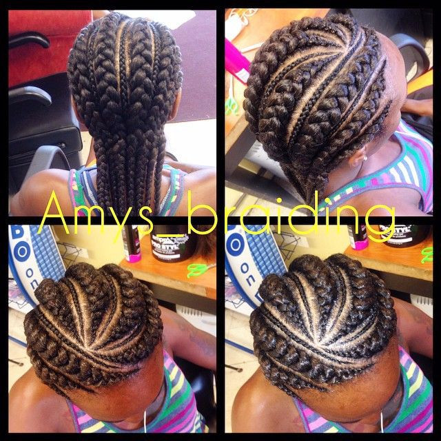 Best ideas about Big Braid Little Braid Hairstyles . Save or Pin 19 More Big Cornrow Styles To Feast Your Eyes Now.