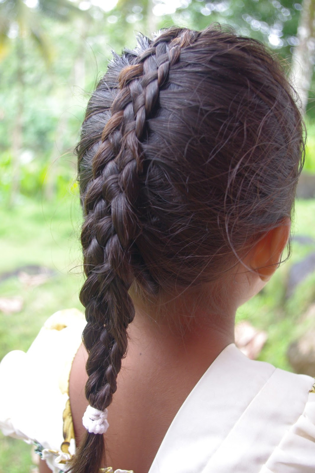 Best ideas about Big Braid Little Braid Hairstyles . Save or Pin Braids & Hairstyles for Super Long Hair Micronesian Girl Now.