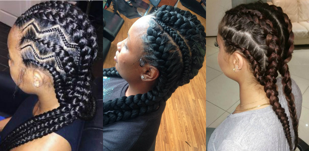 Best ideas about Big Braid Little Braid Hairstyles . Save or Pin Amazing African Goddess Braids Hairstyles Now.