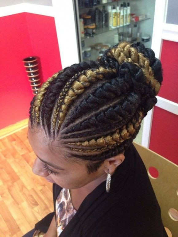 Big Cornrows Braids Hairstyles  A Famous Hairstyle – Goddess Braids