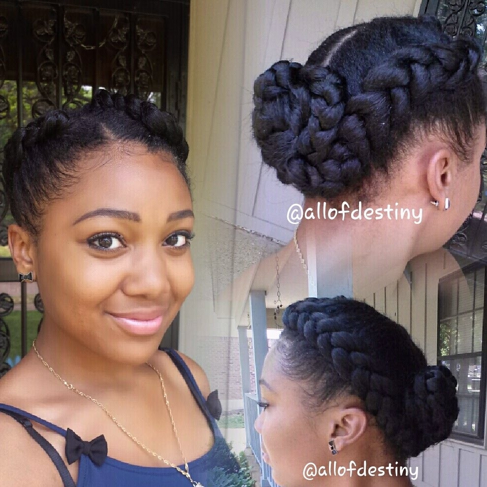 Big Cornrows Braids Hairstyles  Two Cornrows With Weave