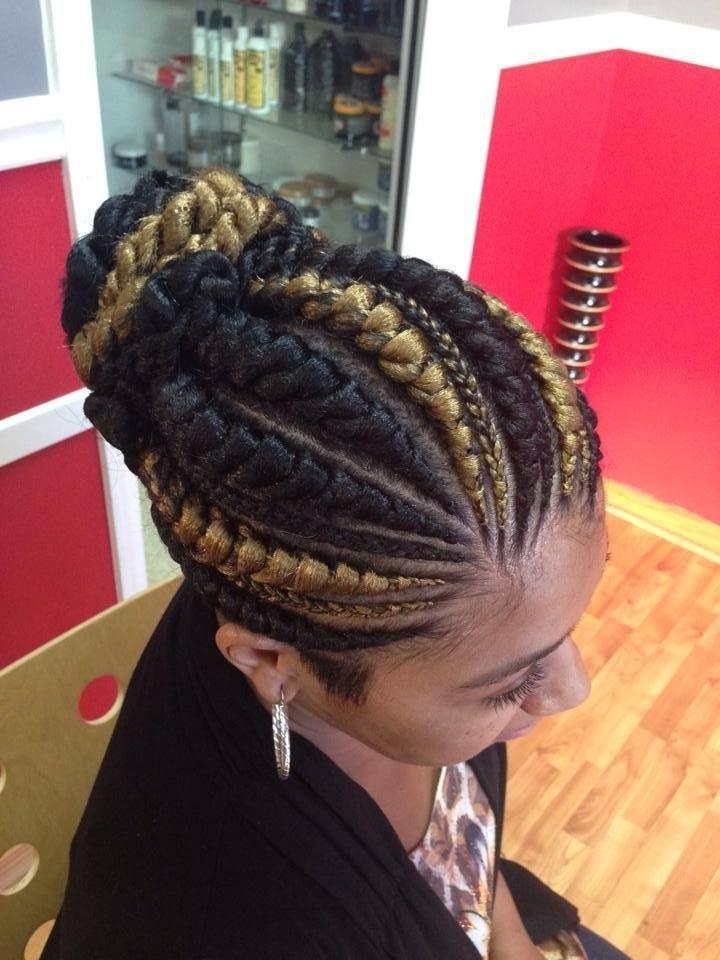 Big Cornrows Braids Hairstyles  Cornrow Braid Hairstyles Plan