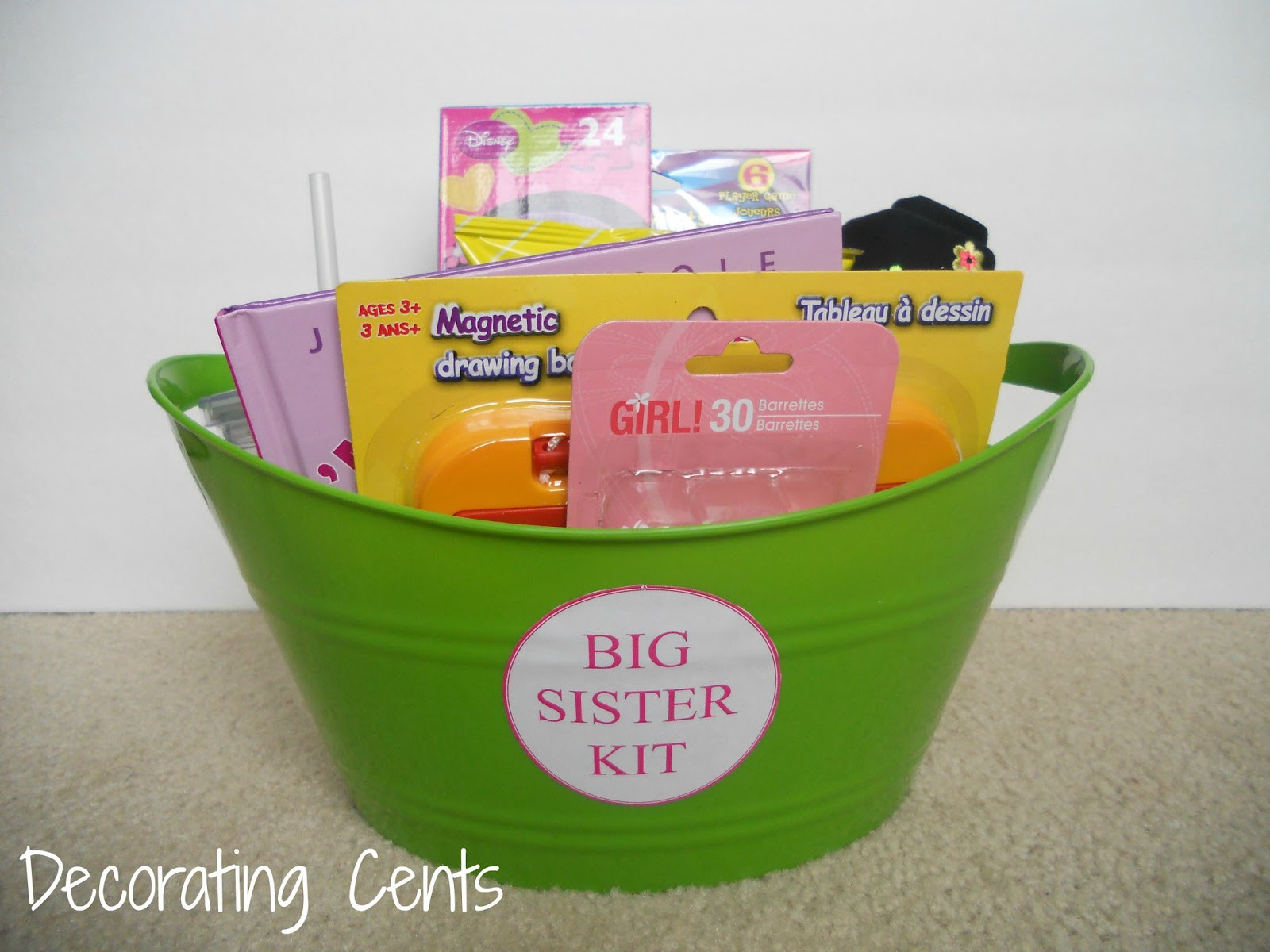 Big Sister Gift Ideas From New Baby  Decorating Cents Big Sister Kit