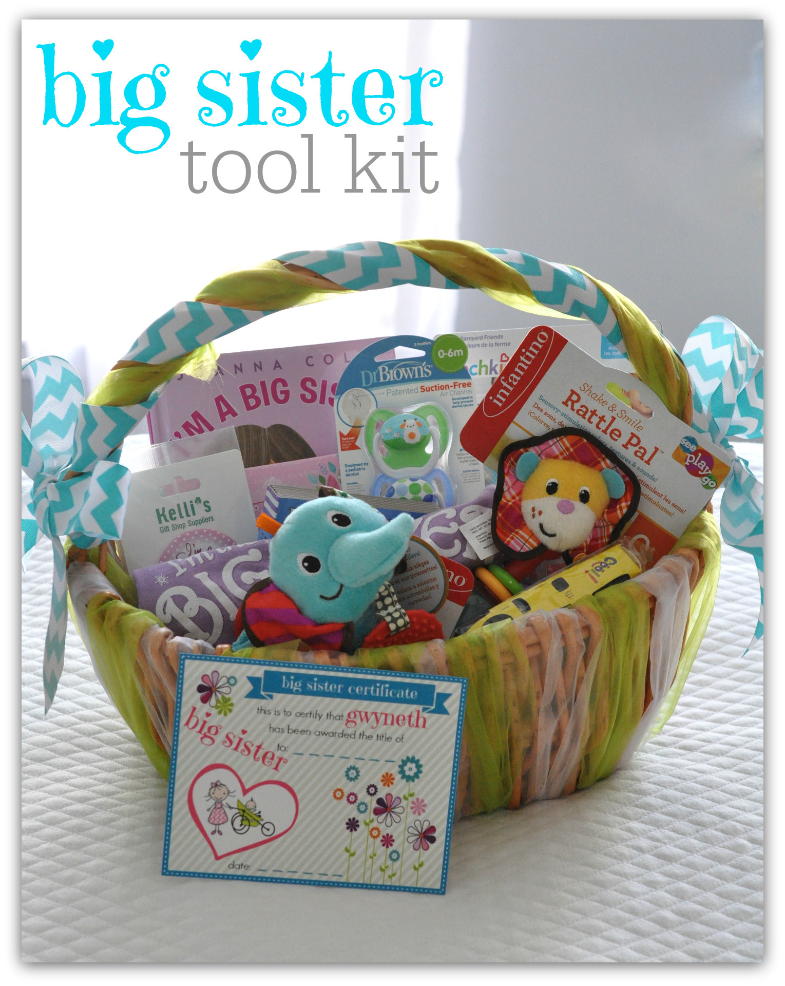 Big Sister Gift Ideas From New Baby  bump & run chat