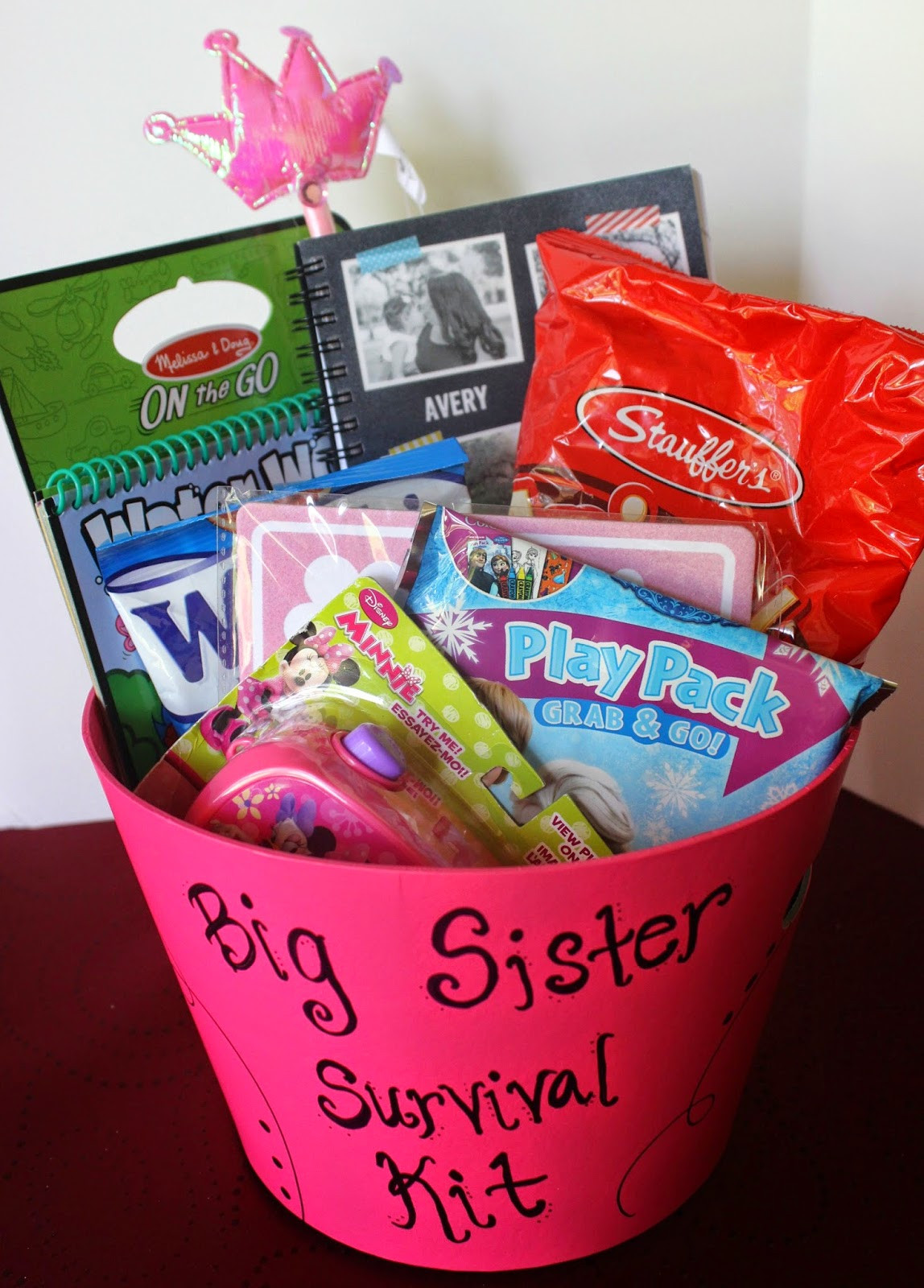 Big Sister Gift Ideas From New Baby  simply made with love Big Sister Survival Kit