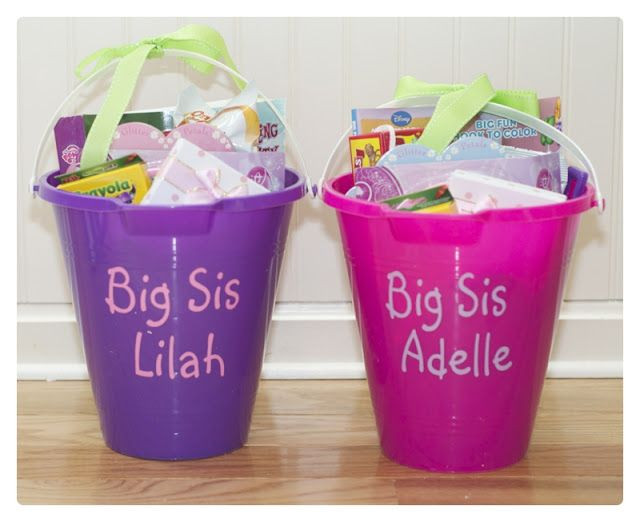 Big Sister Gift Ideas From New Baby  Adventures in Tullyland Preparing for Baby Big Sister