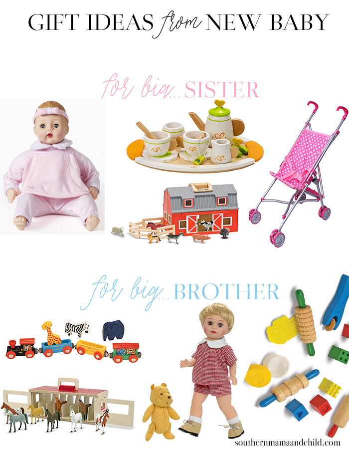 Big Sister Gift Ideas From New Baby  Gift Ideas from New Baby to Big Brother or Sister