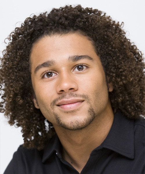 Best ideas about Biracial Hairstyles Male . Save or Pin Corbin Bleu Medium Curly Casual Afro Hairstyle Now.
