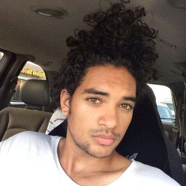 Best ideas about Biracial Hairstyles Male . Save or Pin Black Guy Curly Hairstyles black mens curly haircuts Now.