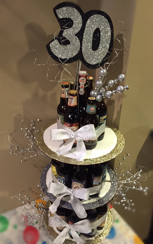 Best ideas about Birthday Beer Cake . Save or Pin December 2014 Now.
