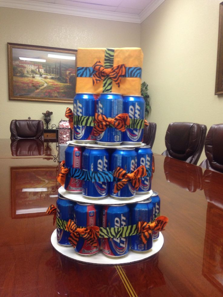 Best ideas about Birthday Beer Cake . Save or Pin Beer can cake Birthday Bash Ideas Pinterest Now.