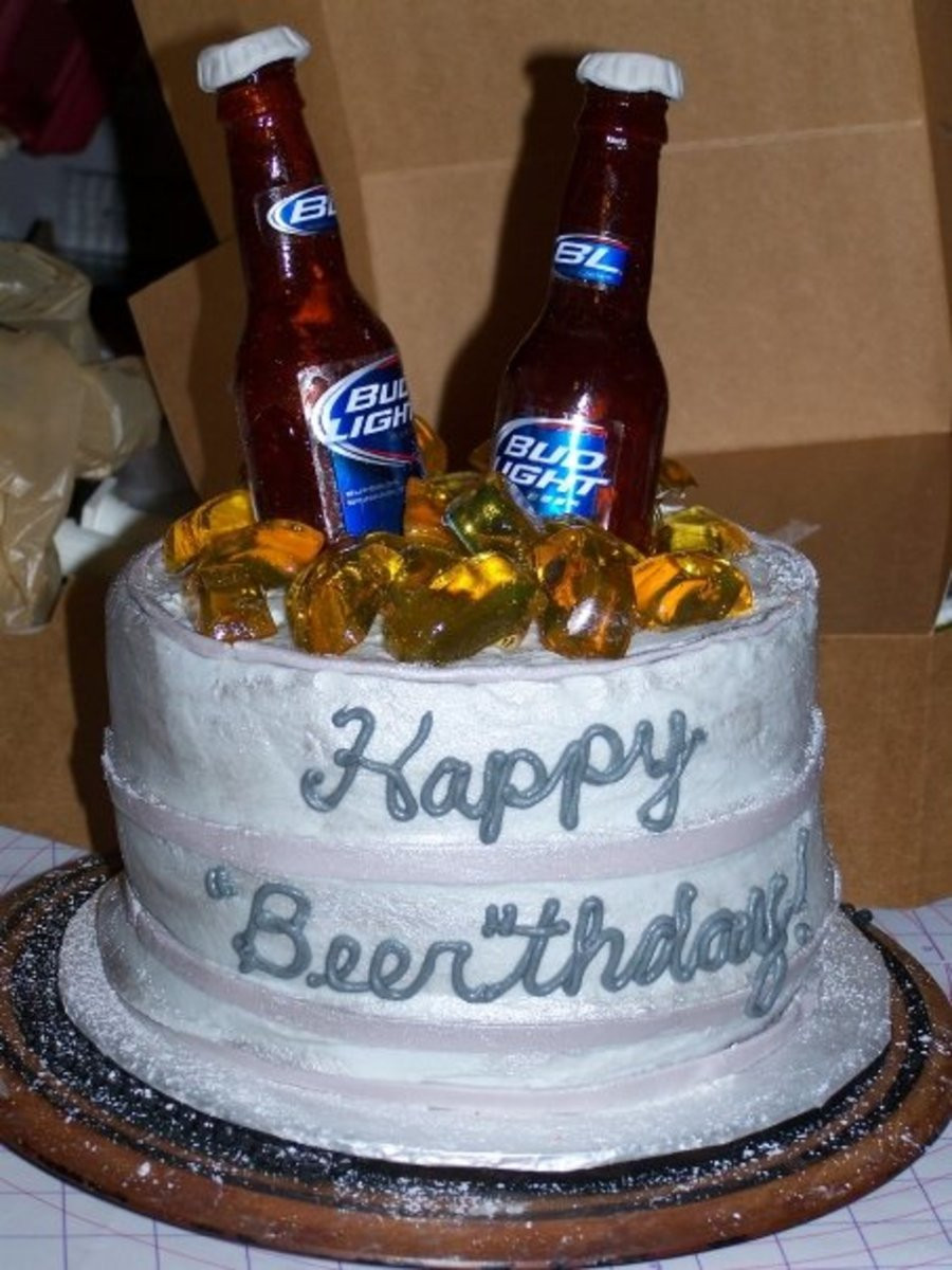Best ideas about Birthday Beer Cake . Save or Pin Happy Beer Thday CakeCentral Now.