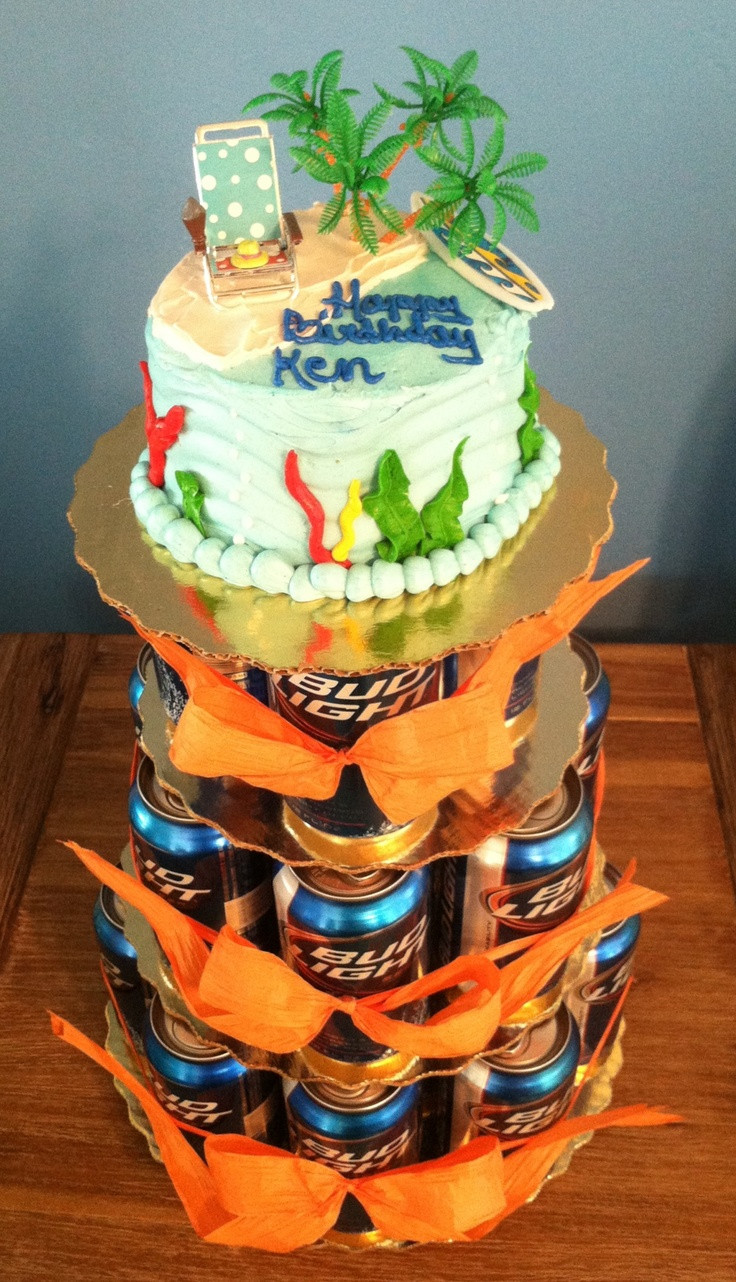 Best ideas about Birthday Beer Cake . Save or Pin 60 best images about Beer Party Theme on Pinterest Now.