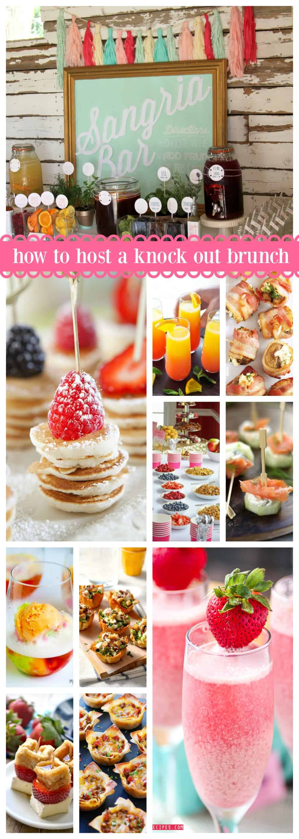 Birthday Brunch Ideas  How to Host a Knock Out Brunch Create Craft Love