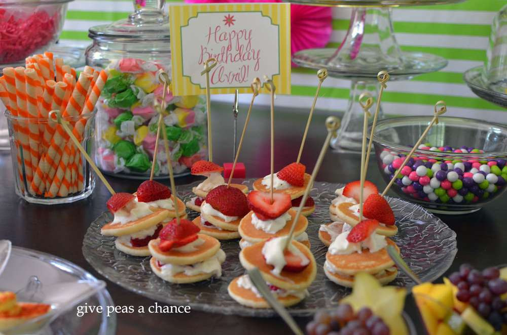Birthday Brunch Ideas  Spa Birthday Brunch pajama party Birthday Party Ideas