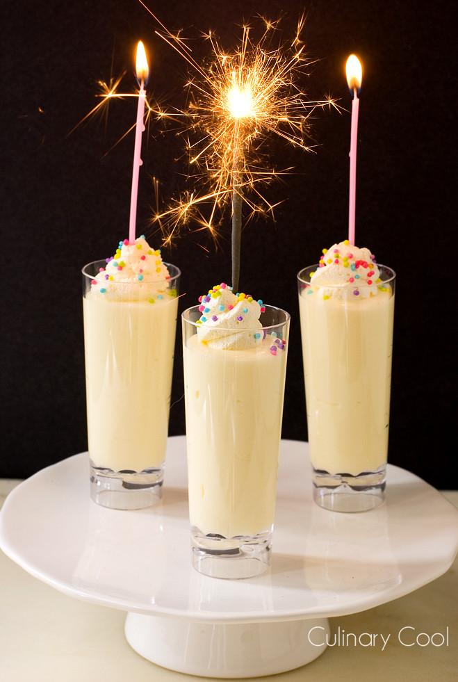 Birthday Cake Shots  Birthday Cake Pudding Shots