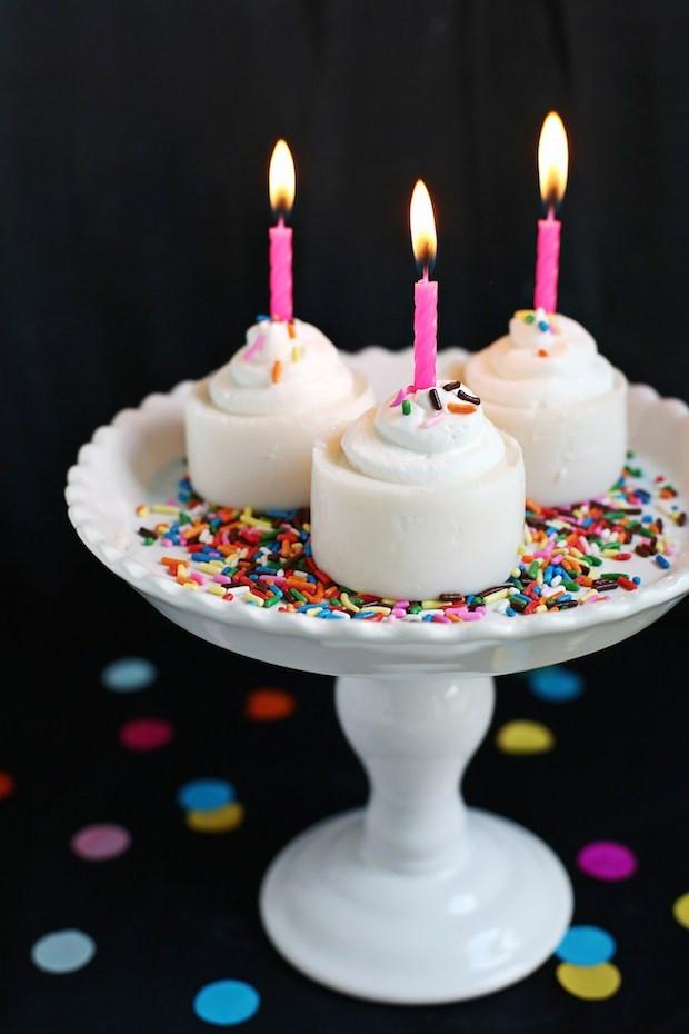 Birthday Cake Shots  Recipe Birthday Cake Jell O Shots