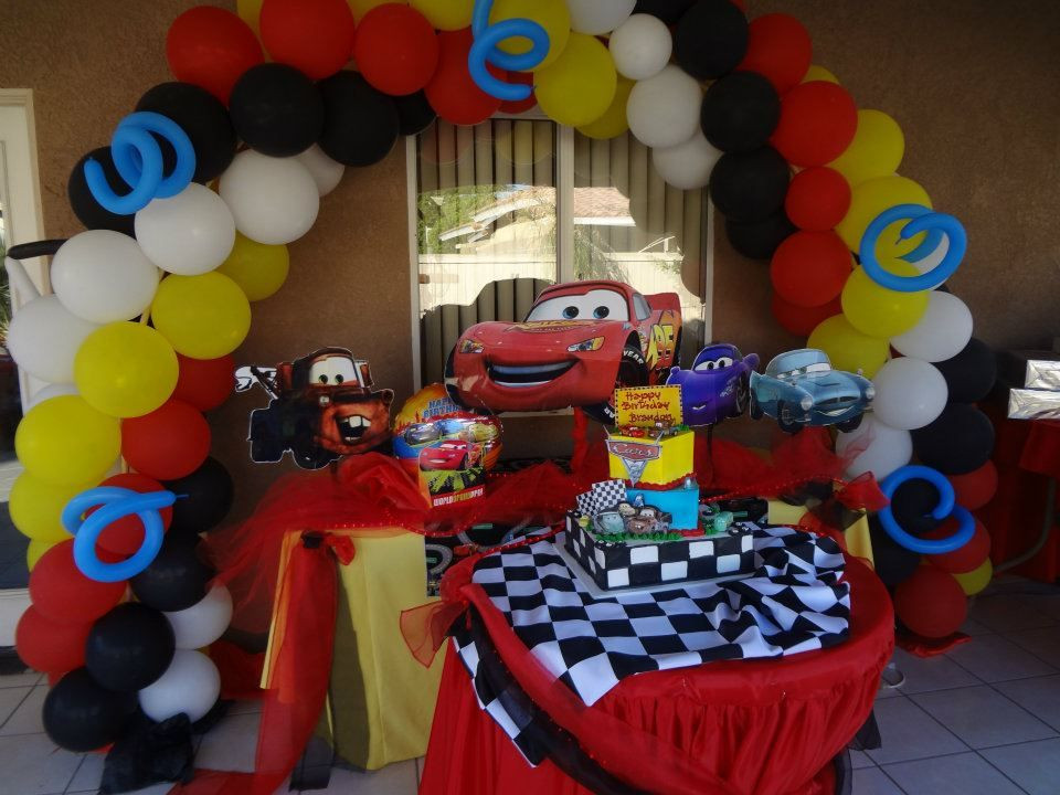 Best ideas about Birthday Car Decorations . Save or Pin Cars Theme Party Decoration Now.
