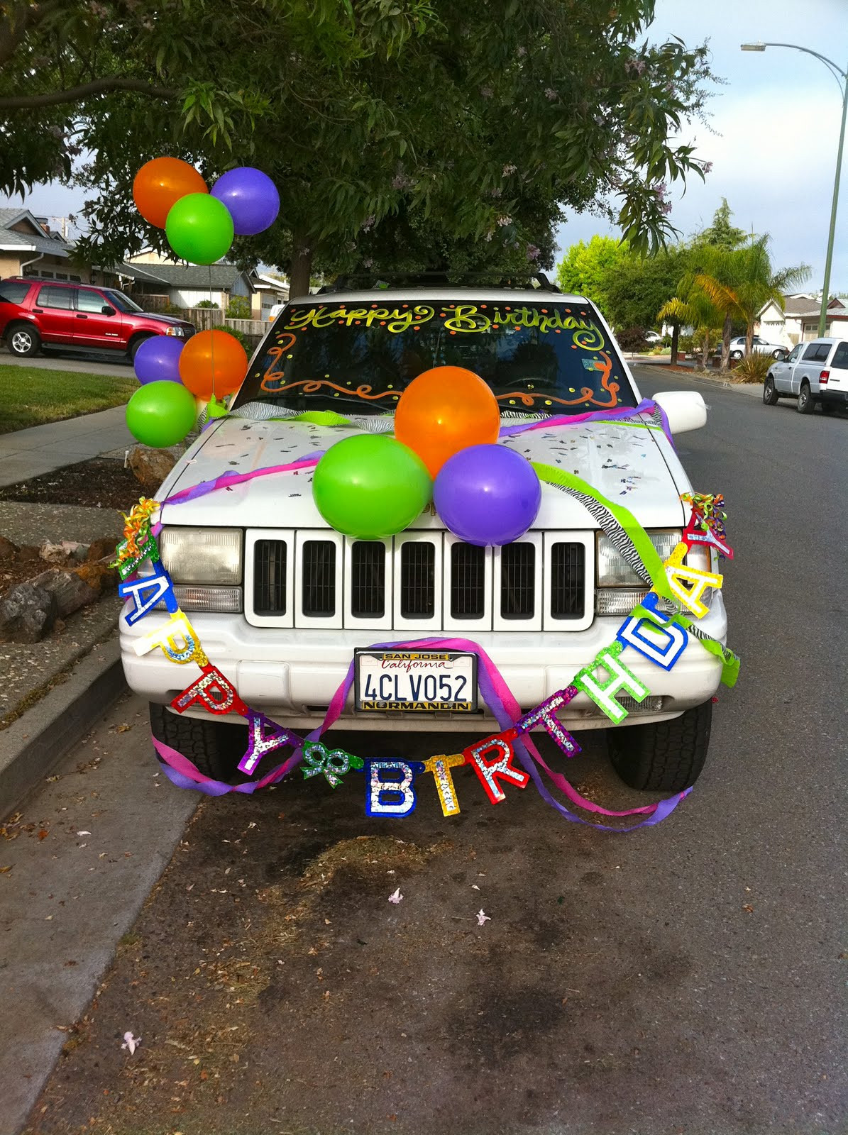 Best ideas about Birthday Car Decorations . Save or Pin Many The Miles Today Was my 22nd Birthday Now.