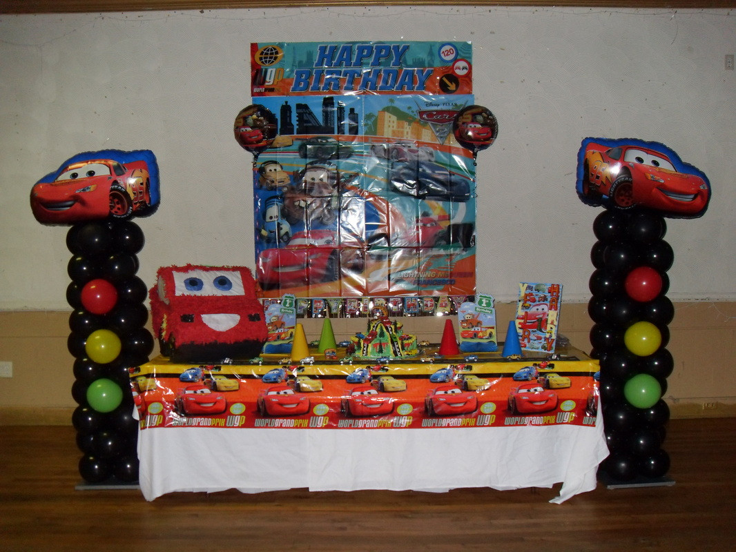 Best ideas about Birthday Car Decorations . Save or Pin CARS PARTY PARTY DECORATIONS BY TERESA Now.