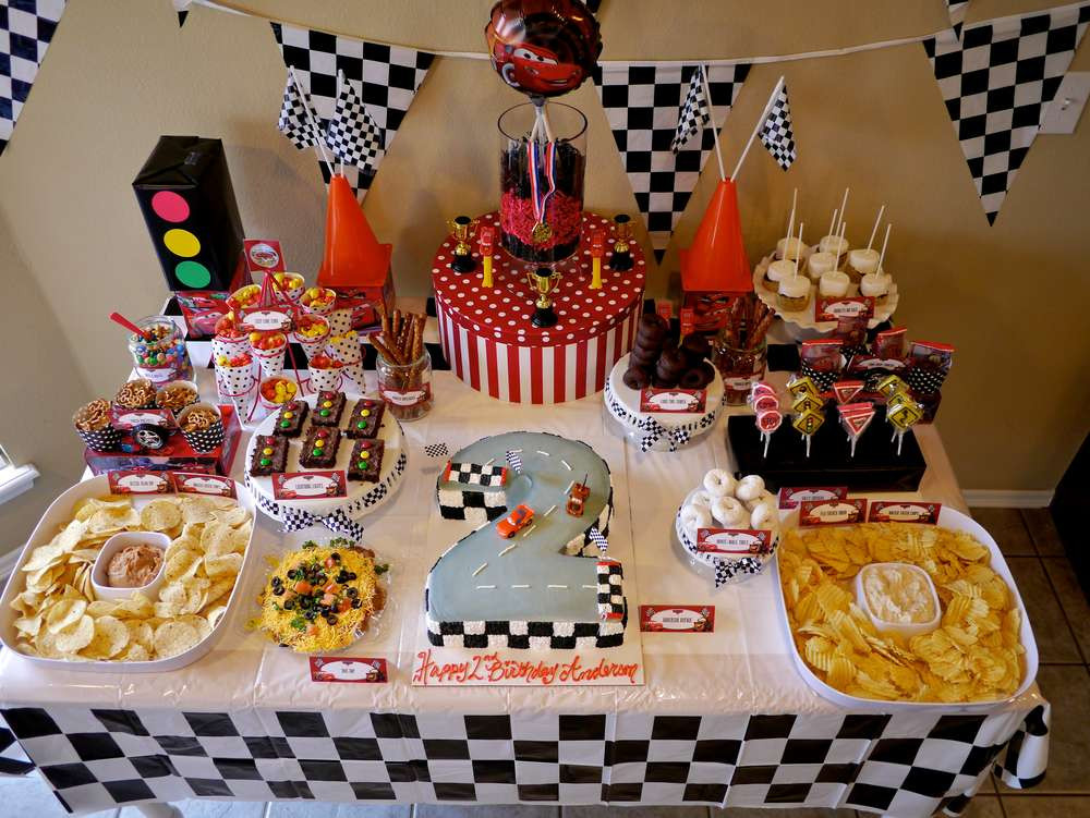 Best ideas about Birthday Car Decorations . Save or Pin Disney Cars Birthday Party Ideas 2 of 80 Now.
