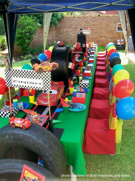 Best ideas about Birthday Car Decorations . Save or Pin Disney Cars Birthday Party Now.