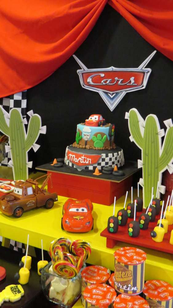 Best ideas about Birthday Car Decorations . Save or Pin Cars Disney movie Birthday Party Ideas Now.
